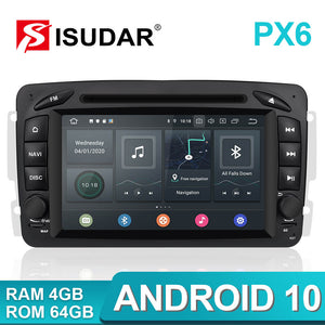 ISUDAR 2 Din Auto Radio Android 10 For Mercedes/Benz/CLK/W209/W203/W208/W463/Vaneo/Viano/Vito - SEO Optimizer Test