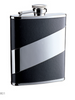 Hip Flask - 6oz Mirror Leather