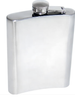 Hip Flask -4oz Plain Stainless Steel