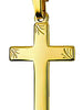 Cross 9ct Gold - Religious approx 23mm x14mm