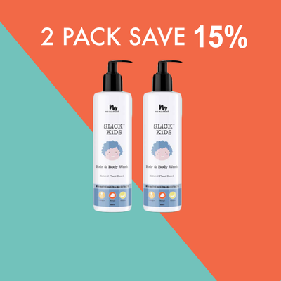 2 x Plant Based Hair and Body Wash 400ml | SAVE 15%
