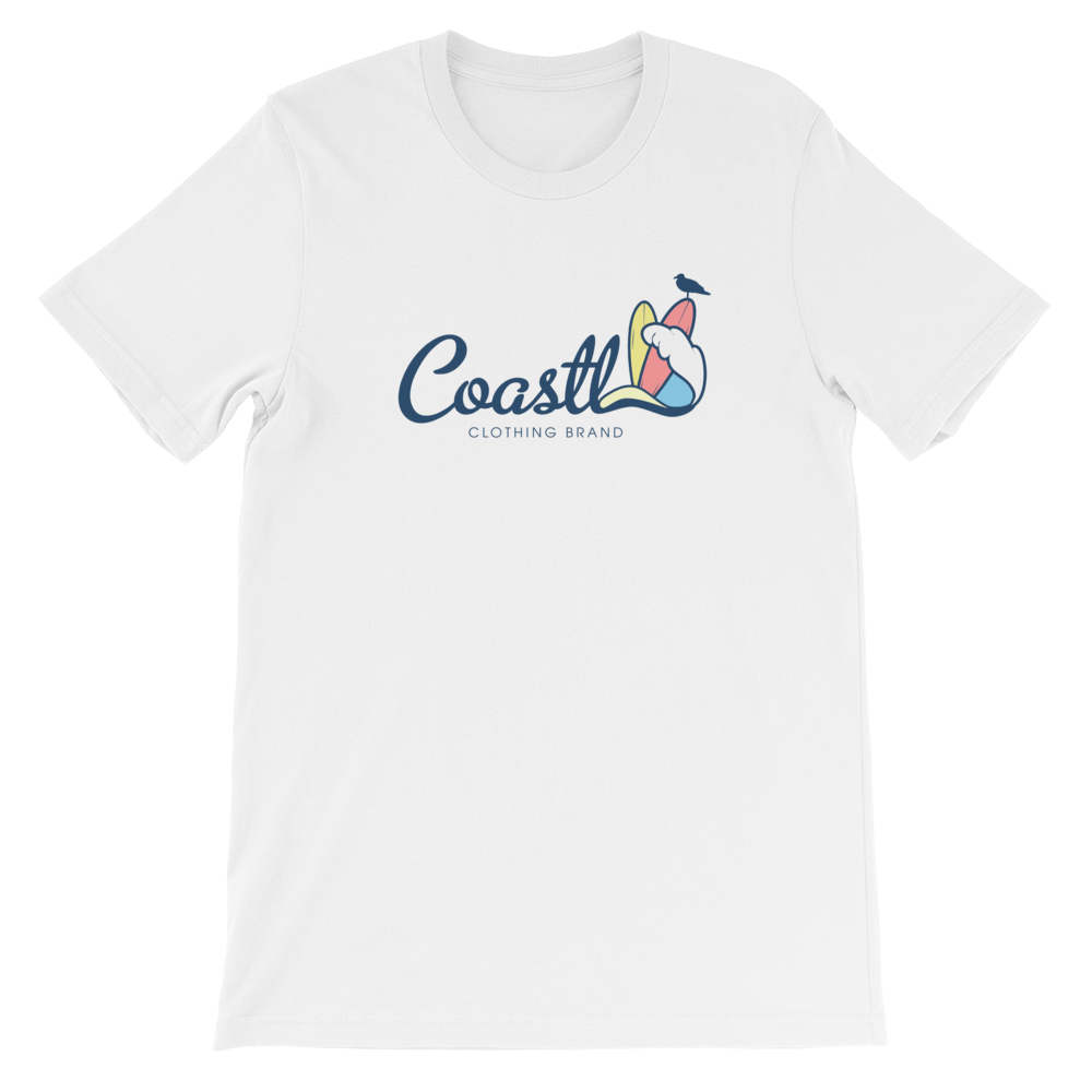 COASTL Classic Logo Unisex T-Shirt - COASTL Clothing