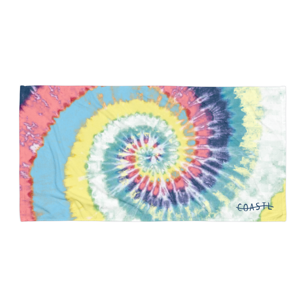 Tie-Dye COASTL Beach Towel - COASTL Clothing