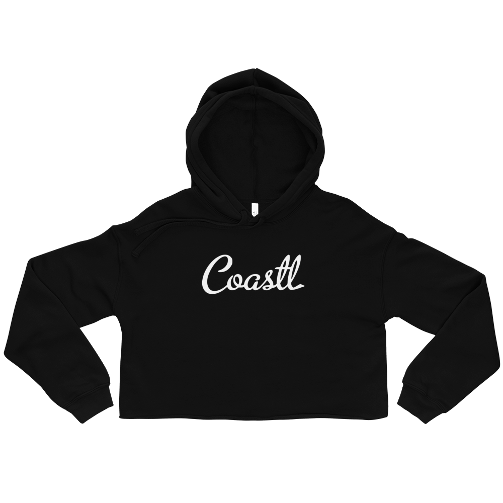 COASTL Winter Womens Crop Hoodie - COASTL Clothing