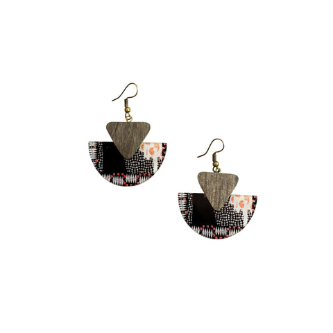 GABLE EARRINGS - MULTI COLOUR