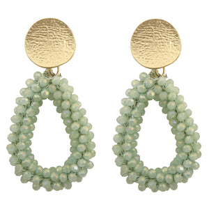 GEORGIE MINT EARRINGS