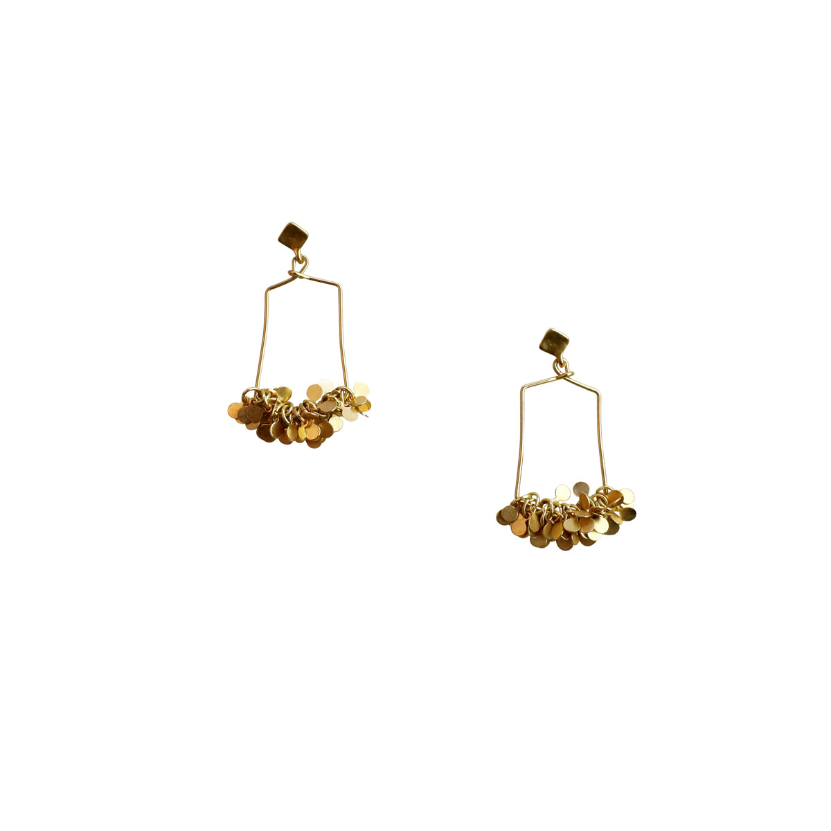 PLACADE EARRINGS - GOLD