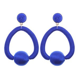 Maggie Royal Blue Earrings