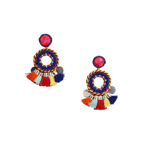 MARIOT EARRINGS -MULTI