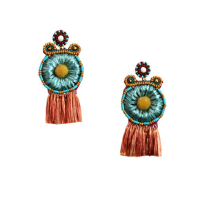 LARNI EARRING – BROWN