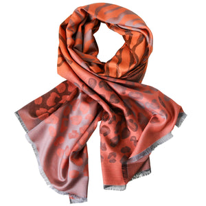 NAMIRA ORANGE SCARF