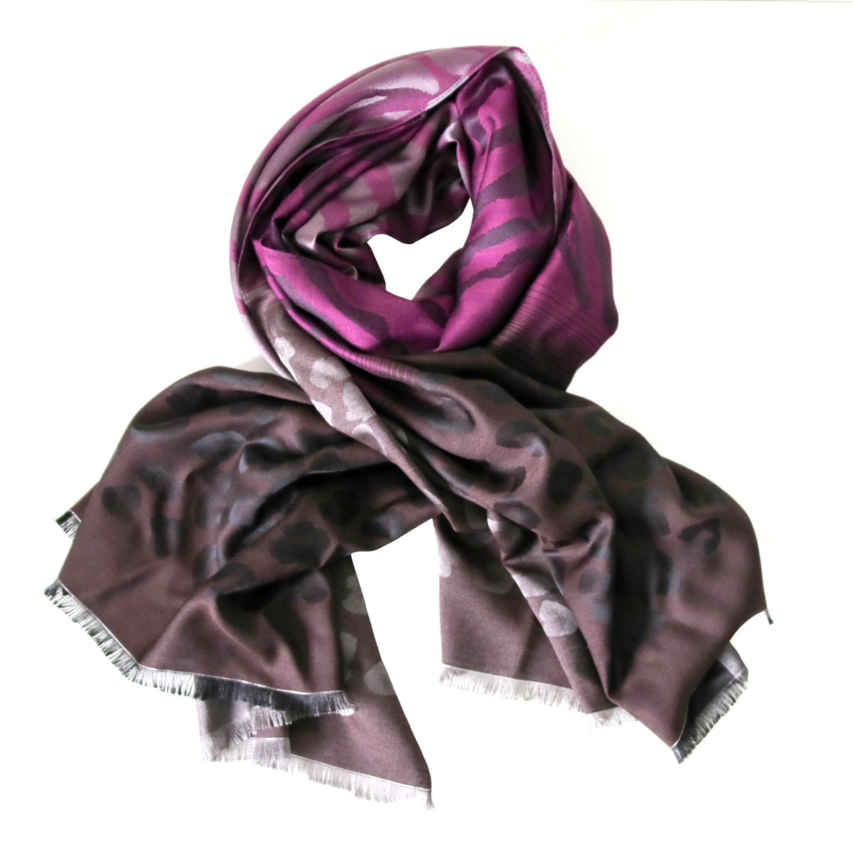 NAMIRA PURPLE SCARF