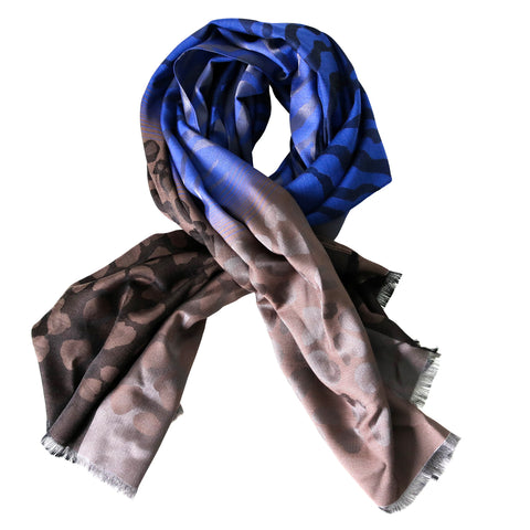 NAMIRA ROYAL BLUE SCARF