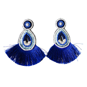 BABYLON BLUE EARRINGS