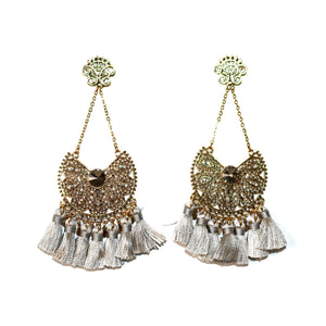 SAANVI TASSLE EARRINGS