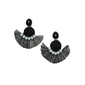 BRANDI EARRINGS BLACK