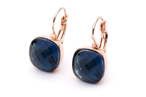 DAZZLE ME EARRINGS - Navy