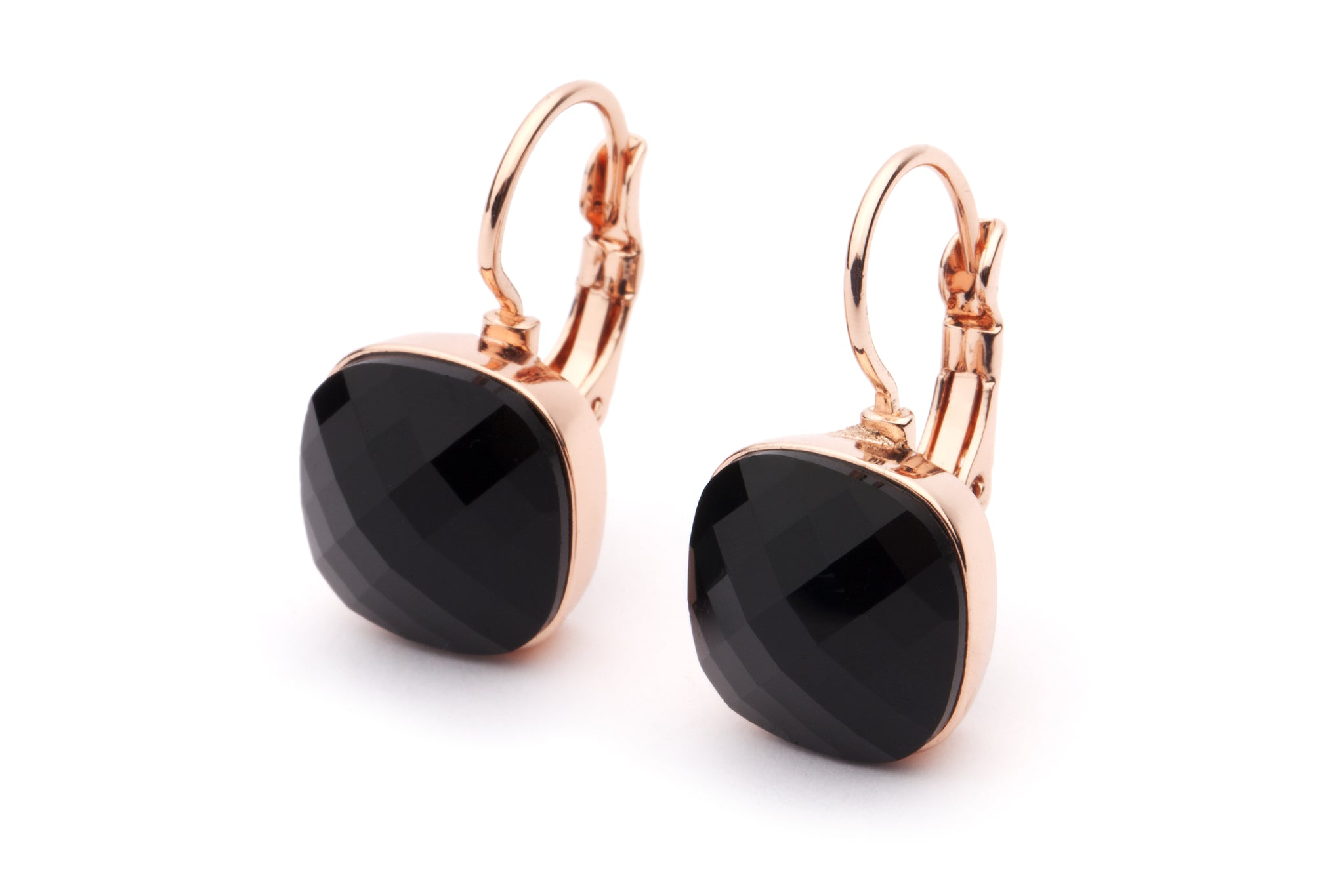 DAZZLE ME EARRINGS - Black