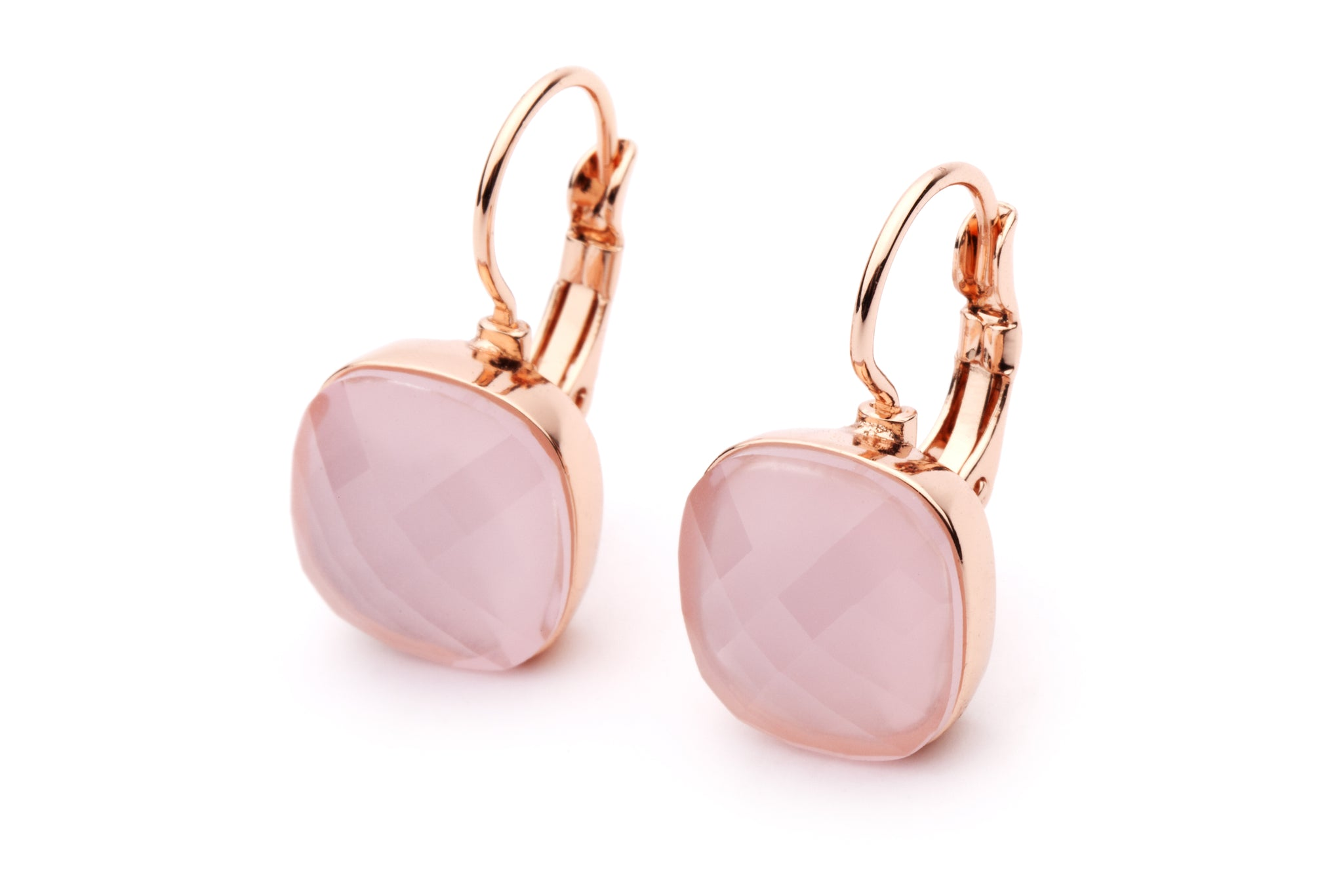 DAZZLE ME EARRINGS - Rose