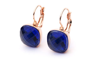 DAZZLE ME EARRINGS - Royal Blue