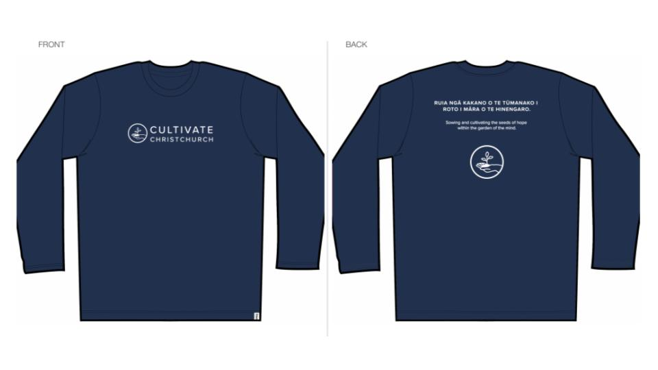 Cultivate Long-Sleeve Unisex Top - IN STOCK
