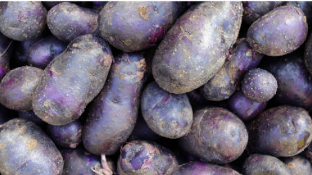 Purple heart potatoes - 1kg