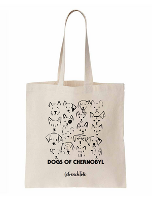 tote bag officiel reportage dogs of chernobyl léa camilleri