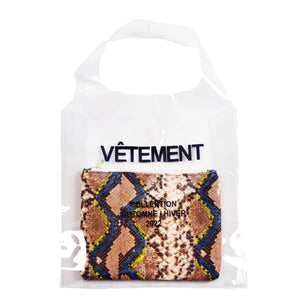 FrenchTote bag transparent, Python
