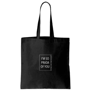 Tote Bag Noir Proud of you- 18AWS17