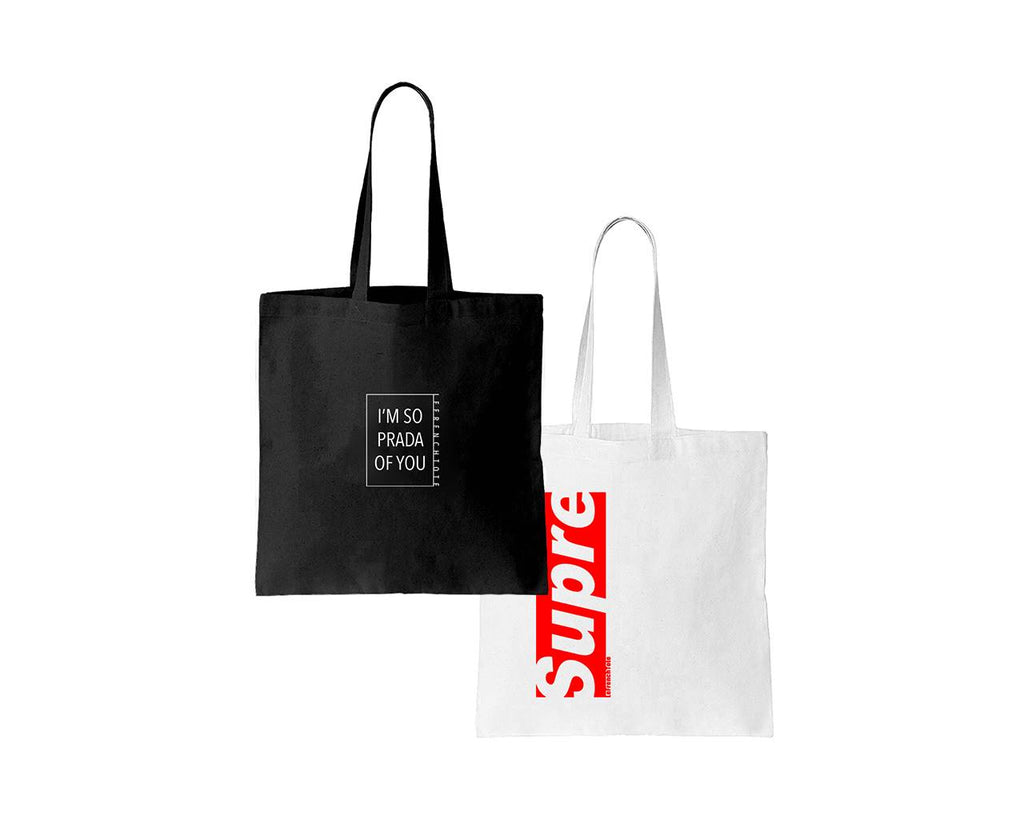 Proud of you + le Supreme tote-bag
