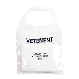 FrenchTote bag transparent, Mouton