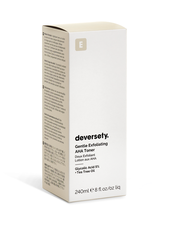 Deversety | Glycolic Acid 5% Gentle Exfoliating Toning Solution - 240ml