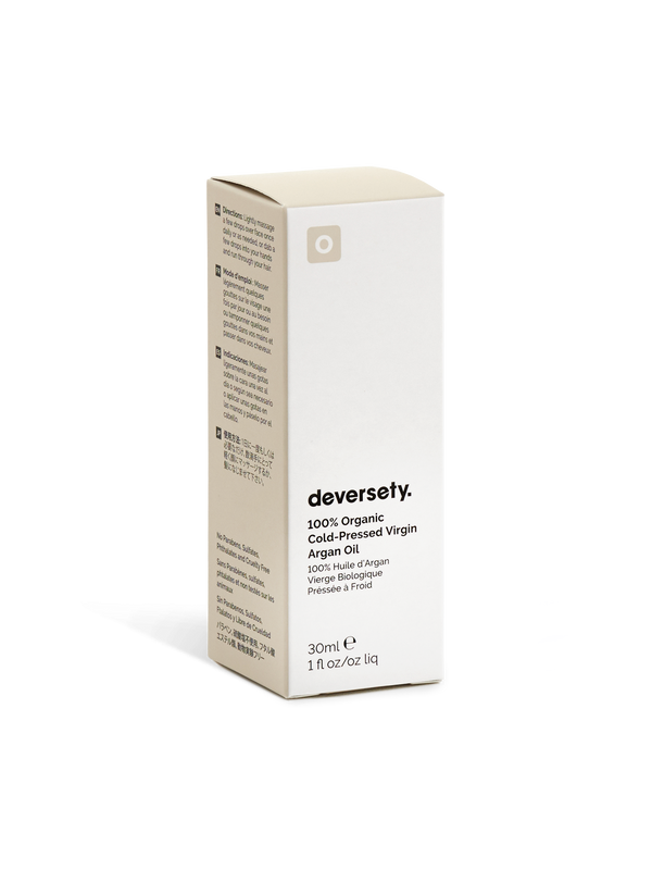 Deversety | 100% Organic Cold-Pressed Moroccan Argan Oil - 30ml
