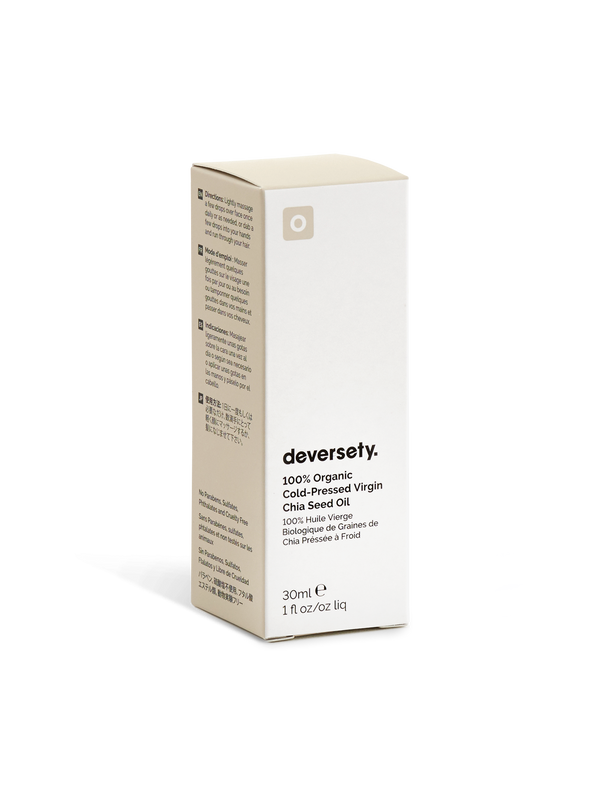 Deversety | 100% Organic Cold-Pressed Chia Seed Oil - 30ml