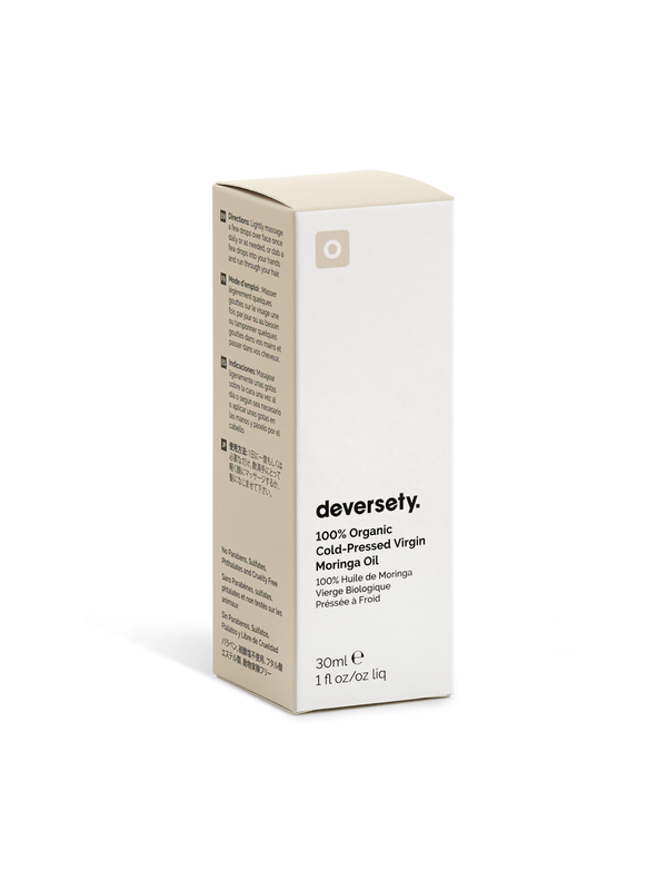 Deversety | 100% Organic Cold-Pressed Virgin Moringa Oil - 30ml