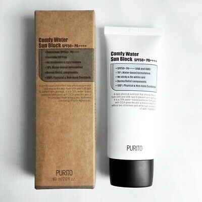 PURITO - Comfy Water Sun Block SPF 50+ PA++++
