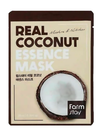FARM STAY Real Coconut Essence Mask 23ml 1pc