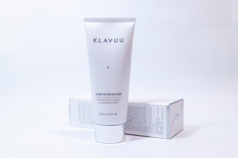 KLAVUU - Pure Pearlsation Revitalizing Facial Cleansing Foam 130ml