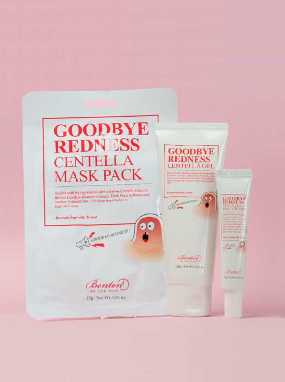 Benton Goodbye Redness Centella Set