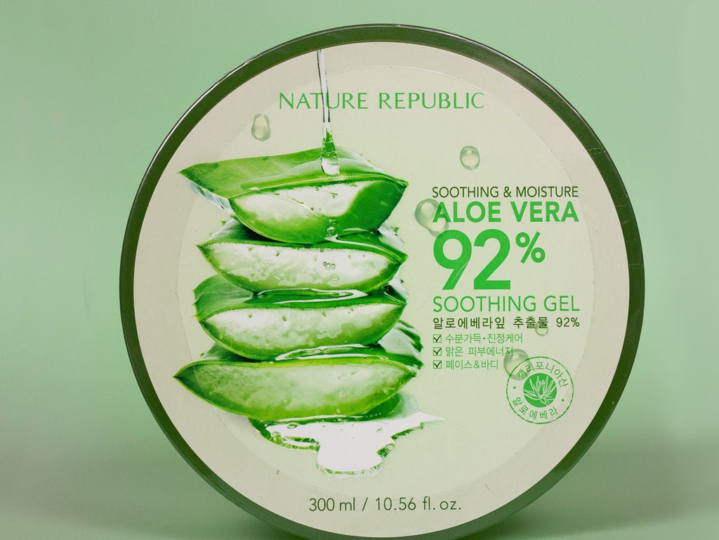 NATURE REPUBLIC - Soothing & Moisturising Aloe Vera 92% Soothing Gel 300ml