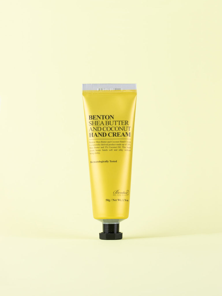 Benton - Shea Butter And Coconut Hand Cream 50g