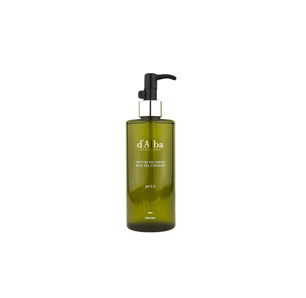d'Alba - Peptide No Sebum Mild Gel Cleanser 300ml