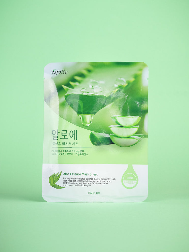 esfolio - Aloe Essence Mask Sheet 10 pcs