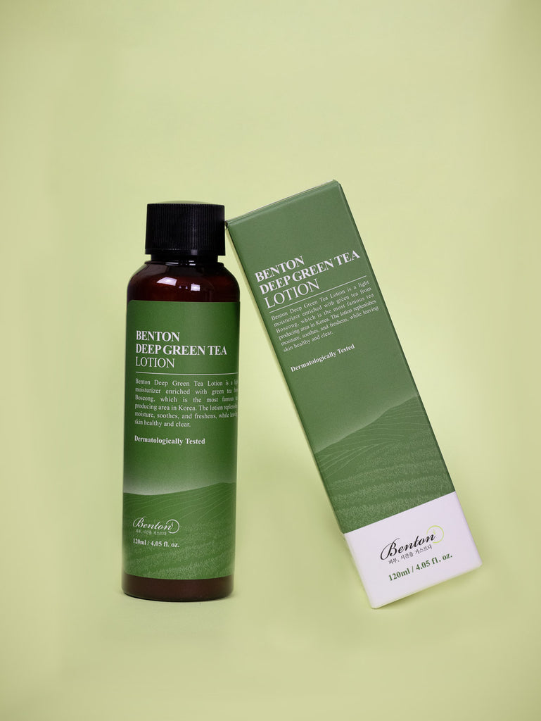 Benton - Deep Green Tea Lotion 120ml