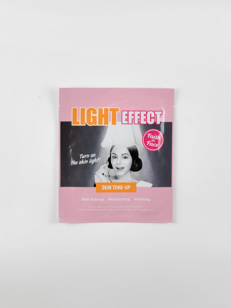 Faith in Face - Hydrogel Mask [Light Effect] 1pc