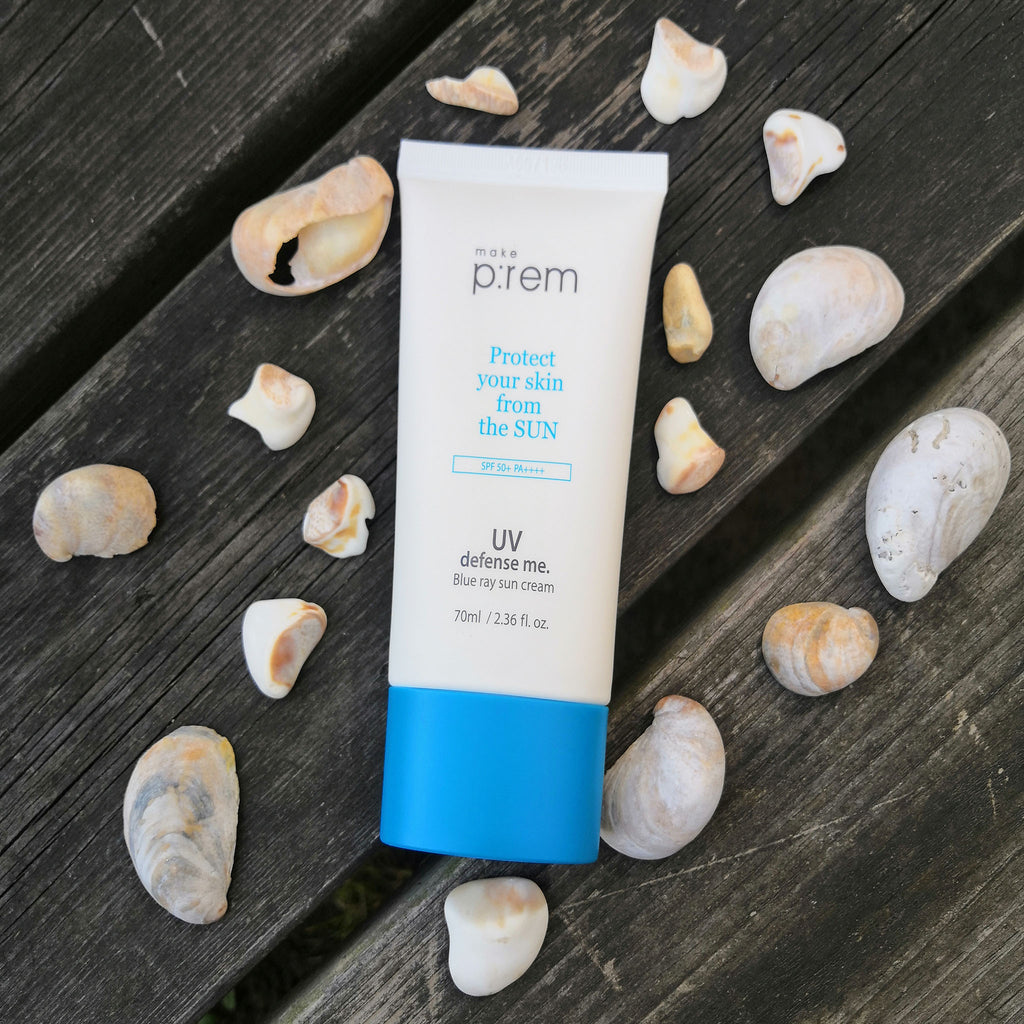 make p:rem - UV Defense Me. Blue Ray Sun Cream SPF50+ PA++++ 70ml