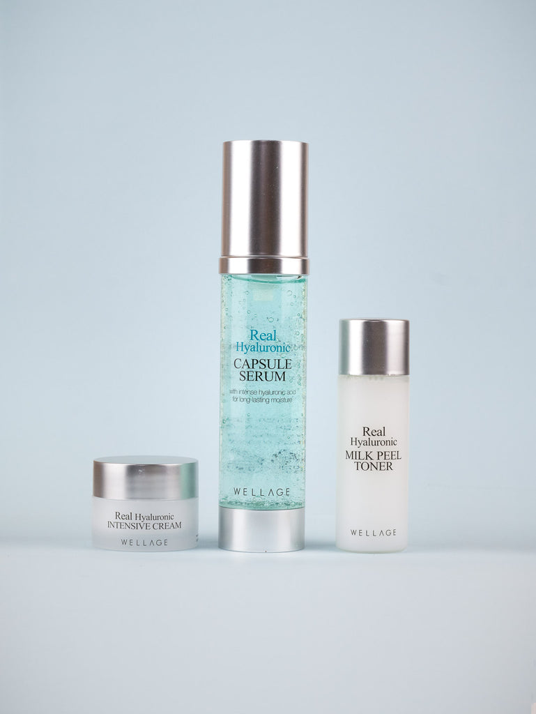 WELLAGE - Real Hyaluronic Capsule Serum Special Set 3 pcs