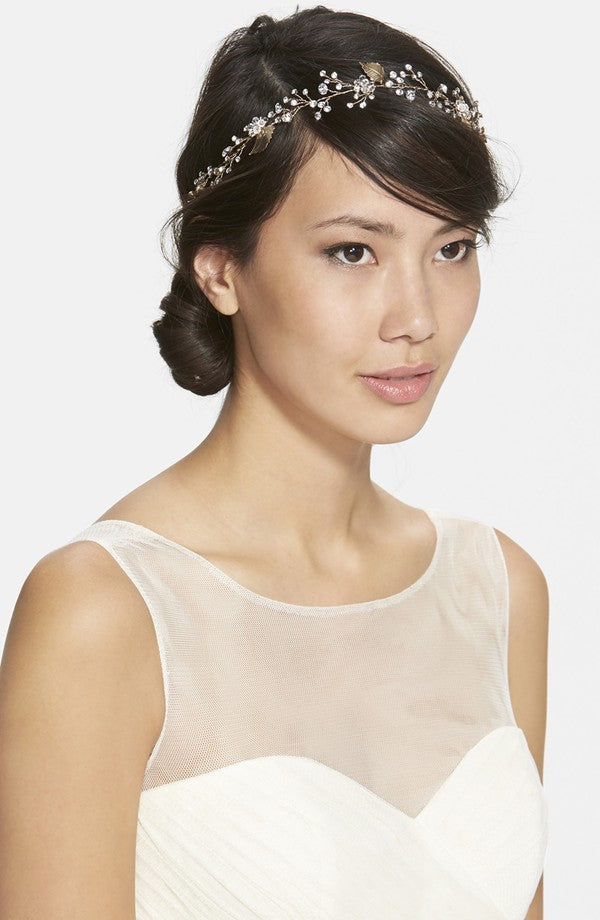 twigs & honey crystal sparkle hair vine, nordstrom, hair accessories, bridal headpiece