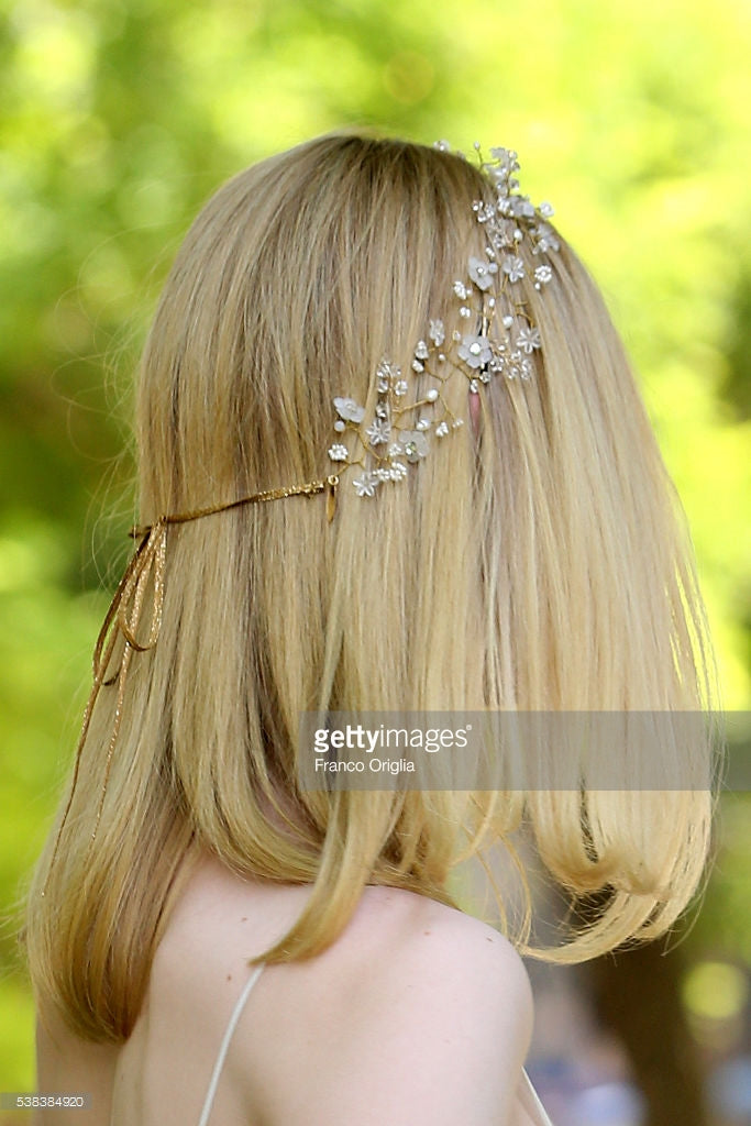 Elle Fanning, Rome Italy, The Neon Demon, Hair, Hair vine, Twigs & Honey