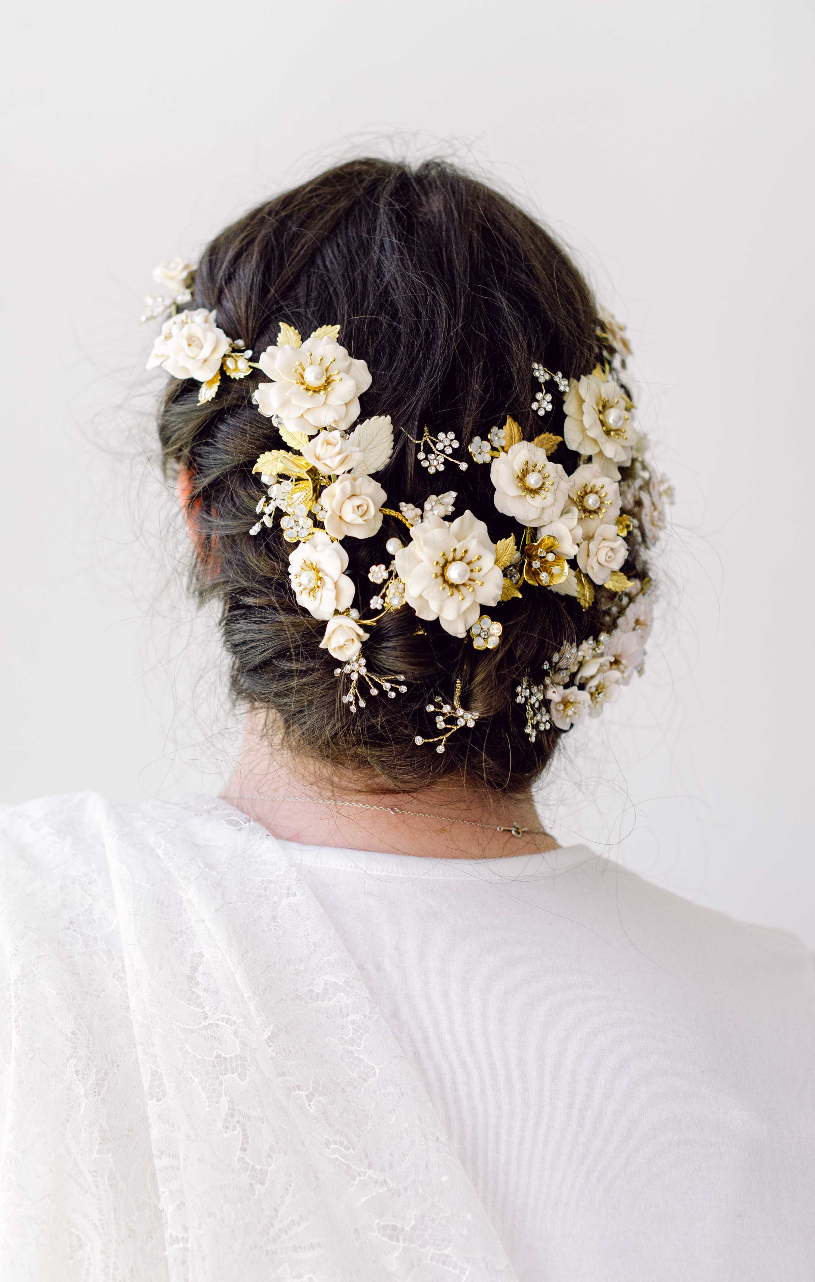 bridal hairstyles by Twigs & Honey